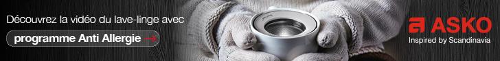 Lave linge ASKO Anti allergie